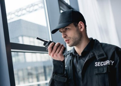 objektschutz in stadtph sicherheitsdienst, wachschutz, brandwache
