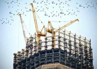 Baustellenüberwachung, Baustellenbewachung Sicherheitsdienst Baustelle, Bau bewachen