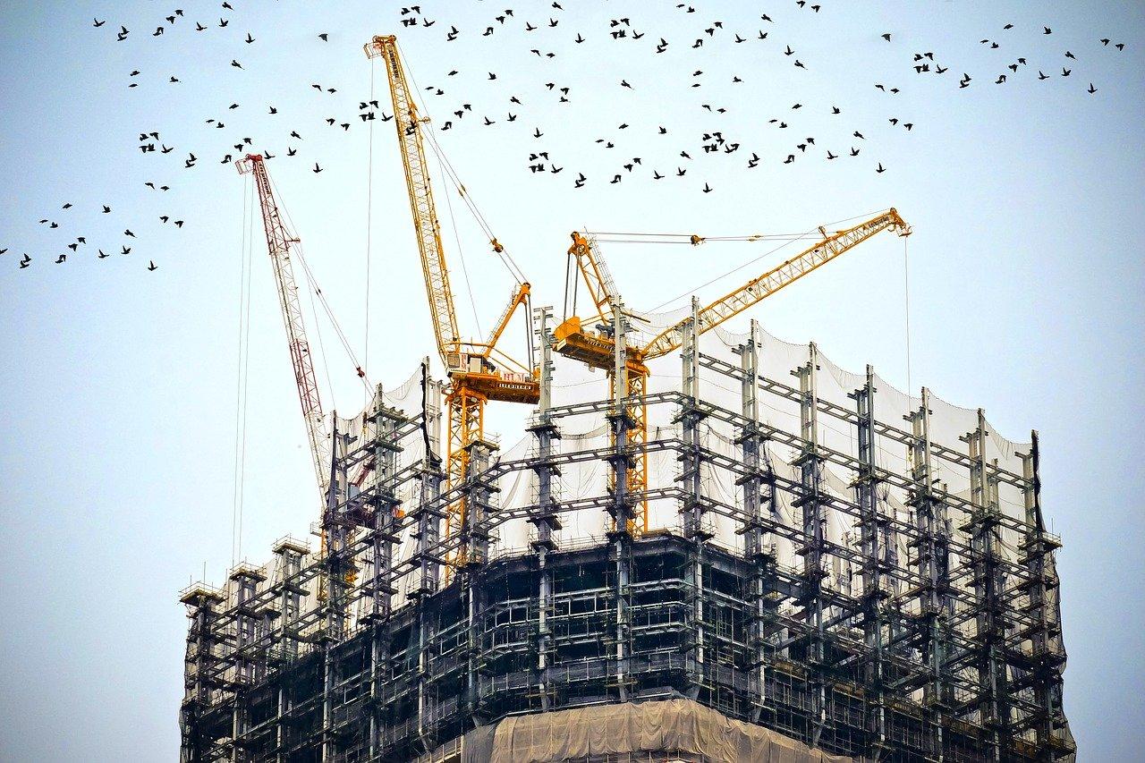 Baustellenüberwachung, Baustellenbewachung Sicherheitsdienst Baustelle, Bau bewachen in