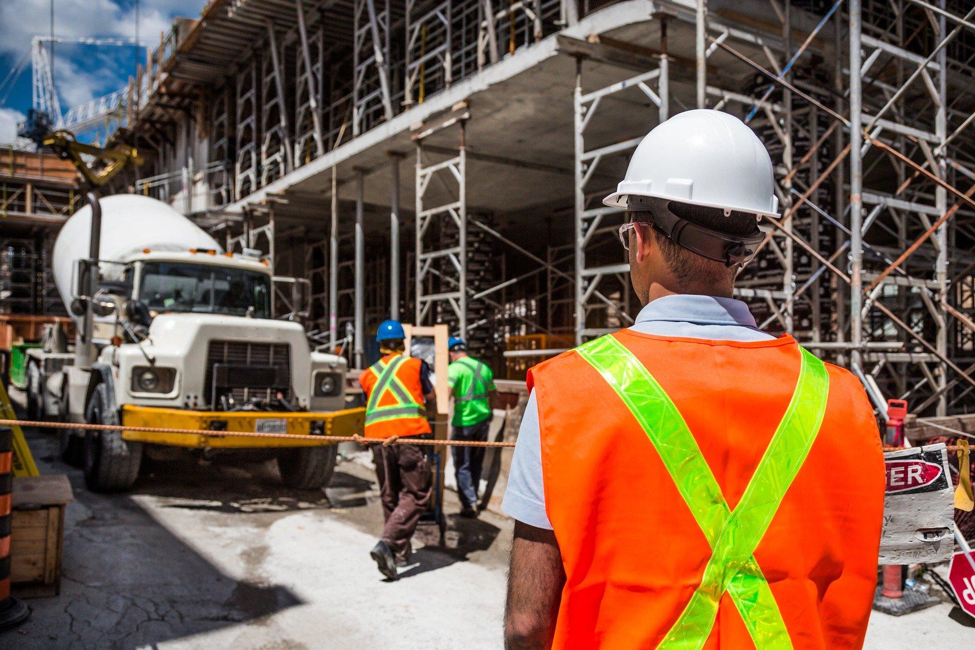 Baustellenüberwachung, baustellenbewachung Sicherheitsdienst Baustelle