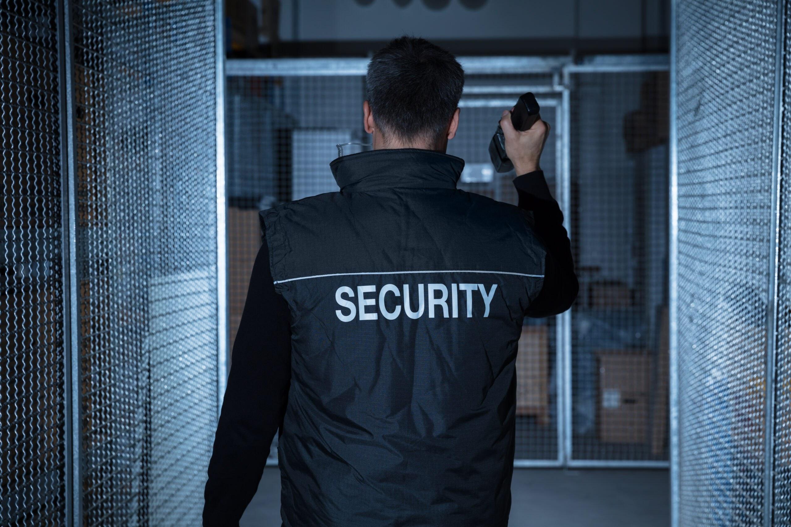 Schließdienst, Sicherheitsdienst