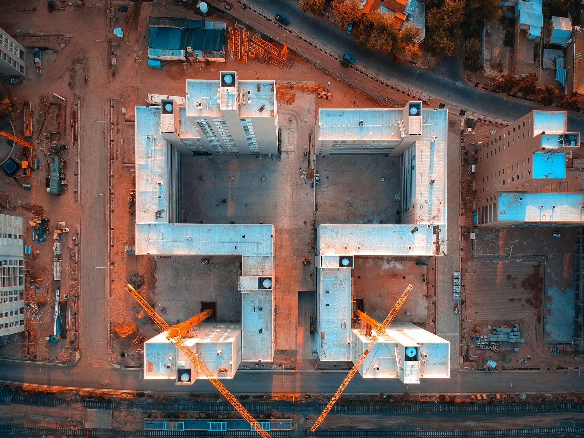 Baustellenüberwachung, Baustellenbewachung Bensheim, Sicherheitsdienst Baustelle