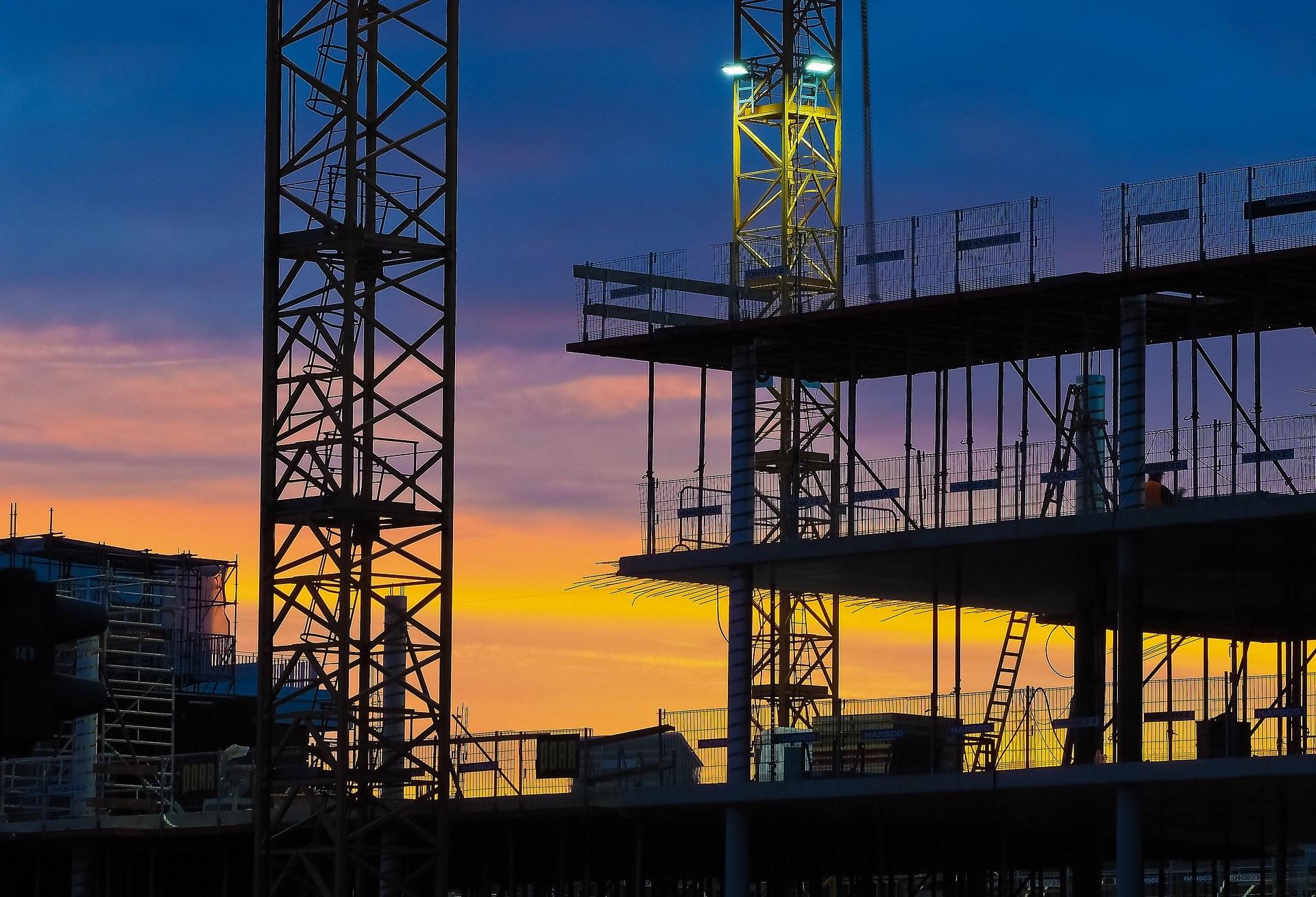 Baustellenüberwachung, Baustellenbewachung Mannheim, Sicherheitsdienst Baustelle